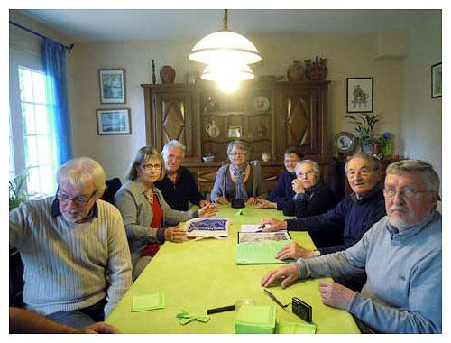 Rencontre à Saint André de Lidon