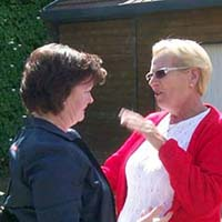 Betty et Christiane, 2 cousines se retrouvent