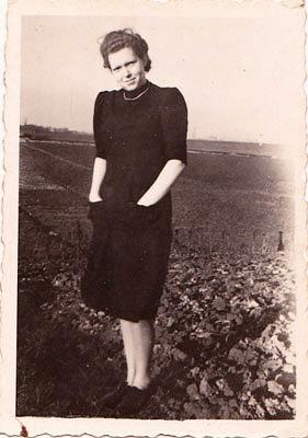 Agnete Ehefrau von Walter Meyer