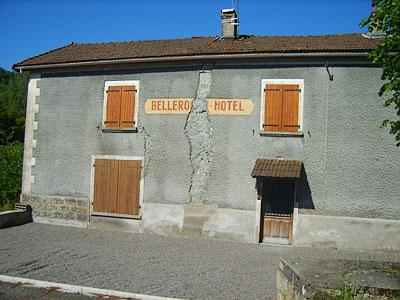Das Hotel in Mai 2009
