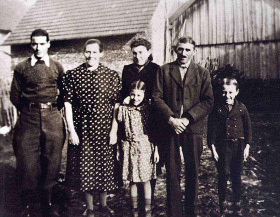 Joseph Rey und Familie Auschläger