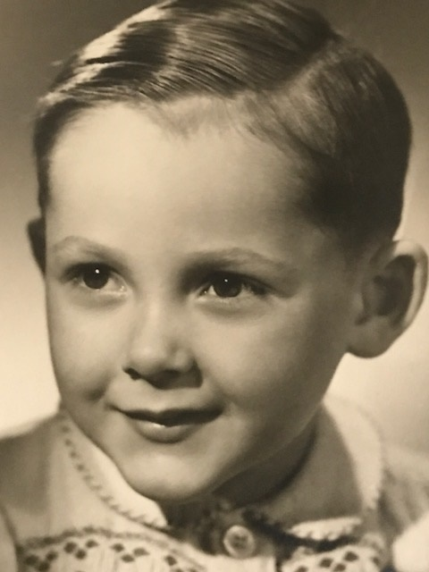 Claude Kohler à 3 ans