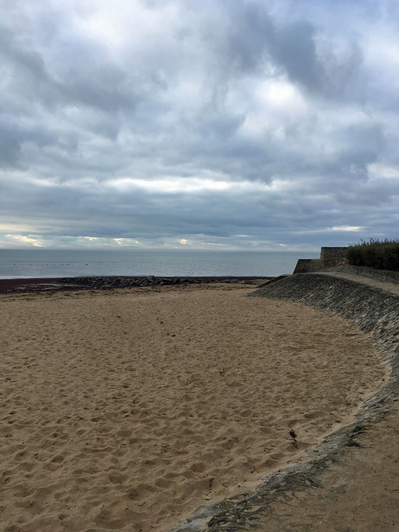 "der Strand der ""La Cantine"""
