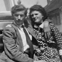 Pierre Joube und Martha Arnold