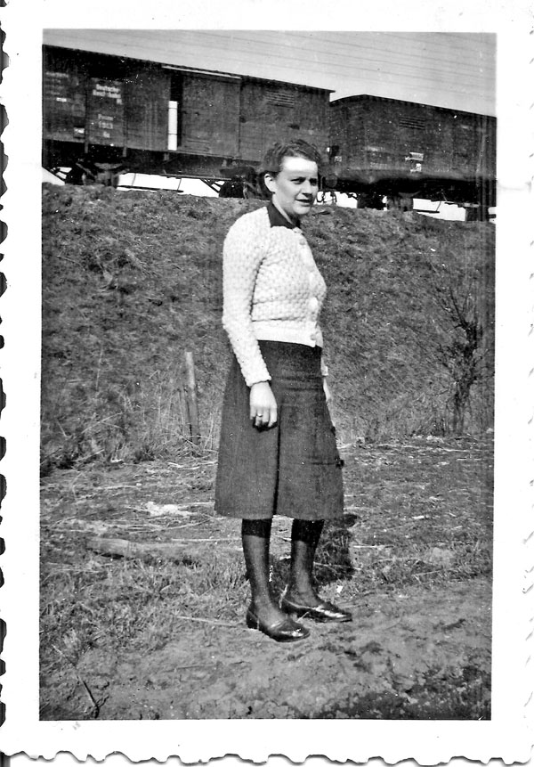 La mère de ma tante (Mlle SCHEEL?)