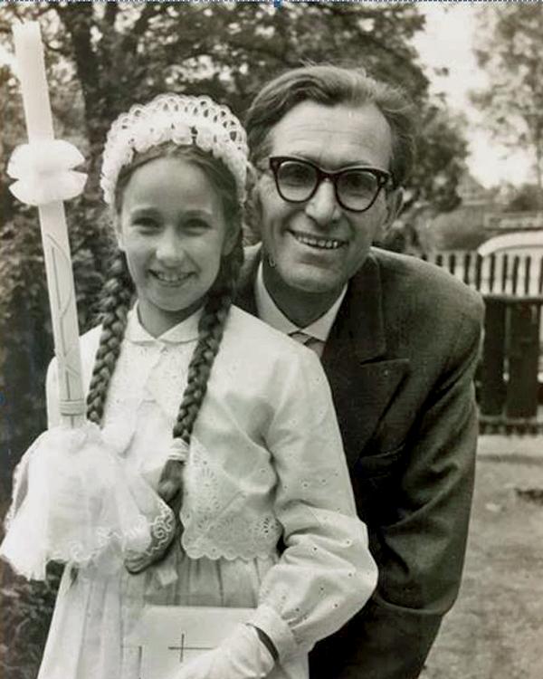 Mein Vater Ludwig und meine Schwester Traudl