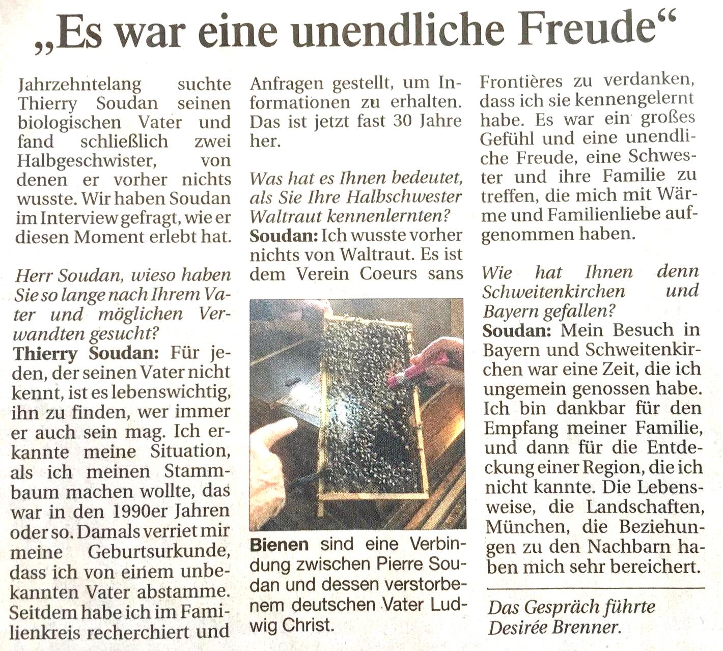der Artikel von Stefan SESSLER Münchner Merkur aus München