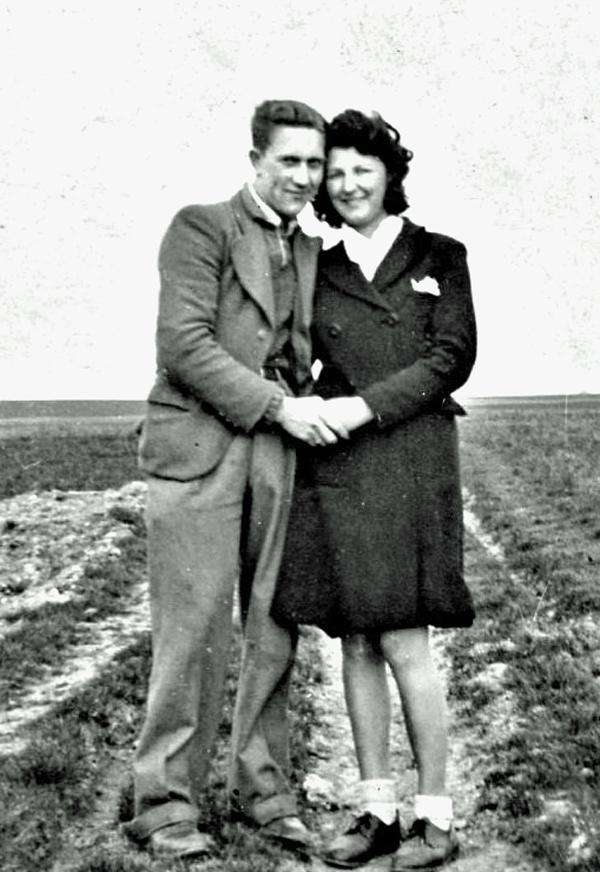 Roger mit seiner Freundin